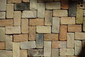 Dalle de briquettes de terre cuite