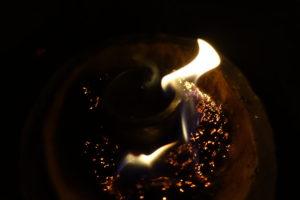 Enfumage d'une céramique